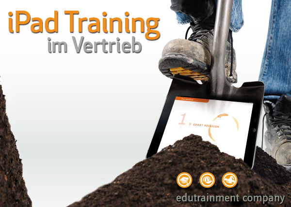 iPad Training im Vertrieb