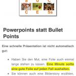 """Detailansicht zum Thema """"Powerpoint"""""""