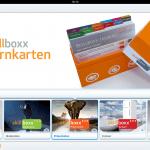 Die Skillboxx-Themenübersicht in der iPad-App