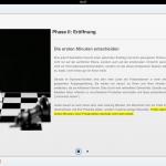 """Detailansicht zur Präsentations-Phase """"Eröffnung"""""""