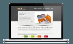 skillboxx Systematik zur Kompetenzentwicklung Webseite
