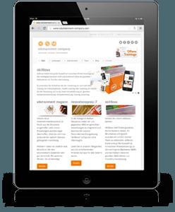 edutrainment iPad Webseite