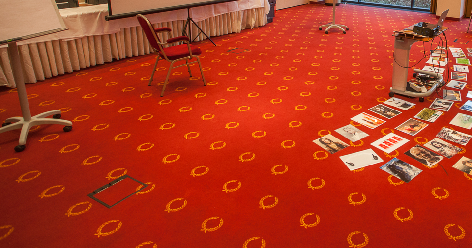 Teppich im Seminarraum