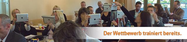 Jetzt individuelles iPad-Training Angebot anfordern.