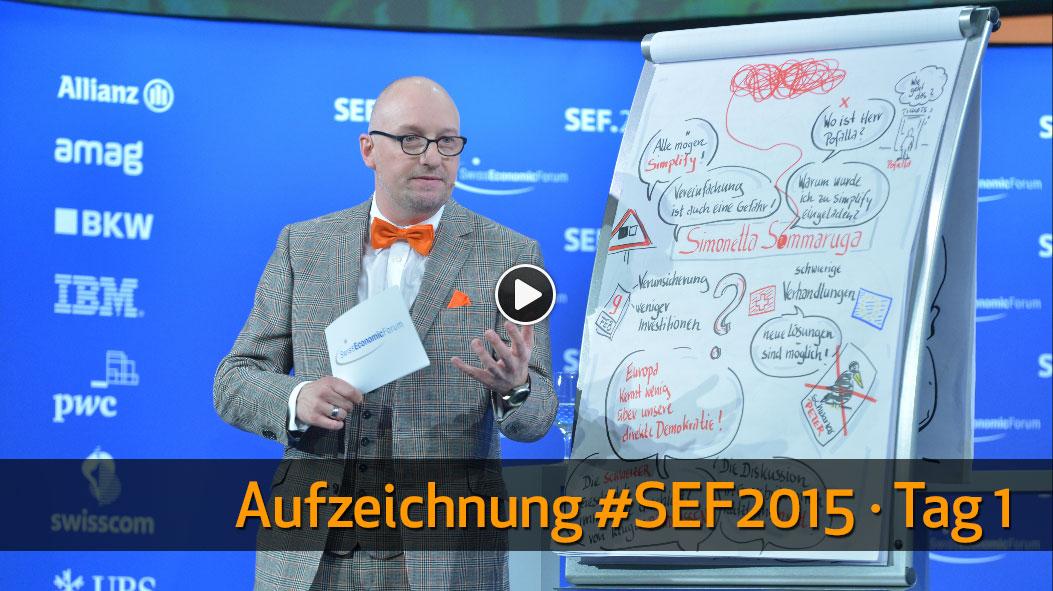 Aufzeichnung #SEF2015, Tag 1