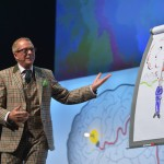 Albrecht Kresse als visueller Zusammenfasser auf dem SIF2013