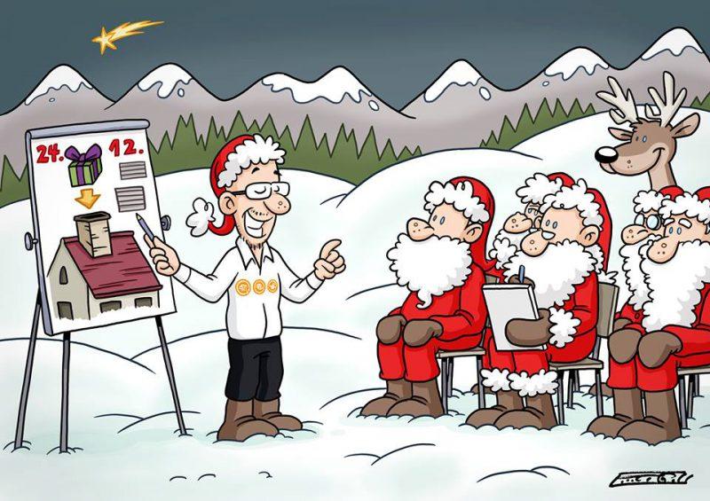 Weihnachten bei edutrainment