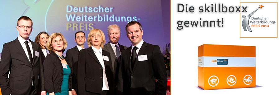 Gewinner Deutscher Weiterbildungspreis 2013, Sonderpreis KMU: die skillboxx