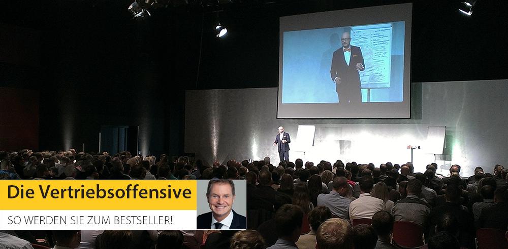 Dirk Kreuters Vertriebsoffensive in Bochum: auf Flipcharts von Albrecht Kresse
