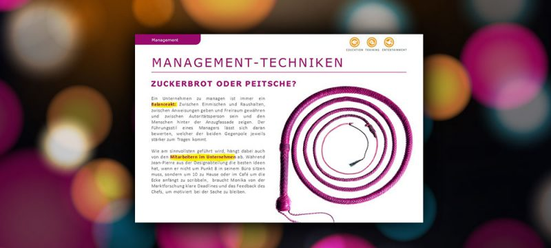 Management-Techniken