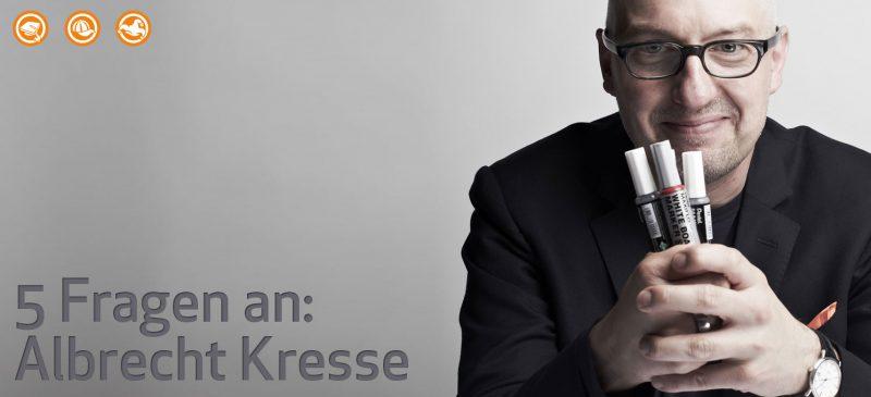 5 Fragen an Albrecht Kresse