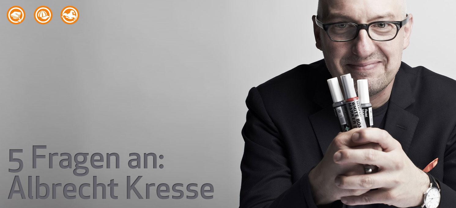 5 Fragen an Albrecht Kresse zum Thema Weiterbildung im Beruf