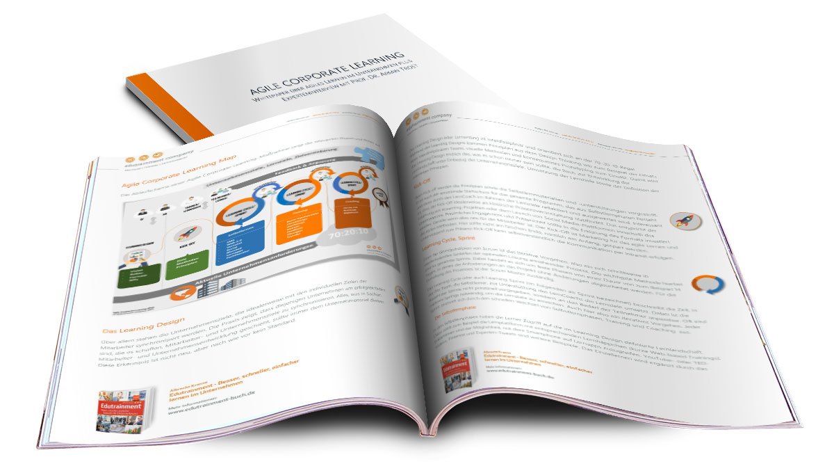Kostenloses Whitepaper Agile Corporate Learning (+ Interview mit Prof. Dr. Armin Trost)