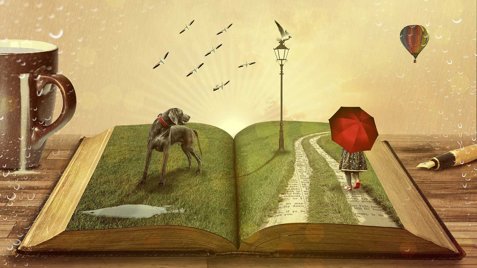 Übung macht den Storyteller