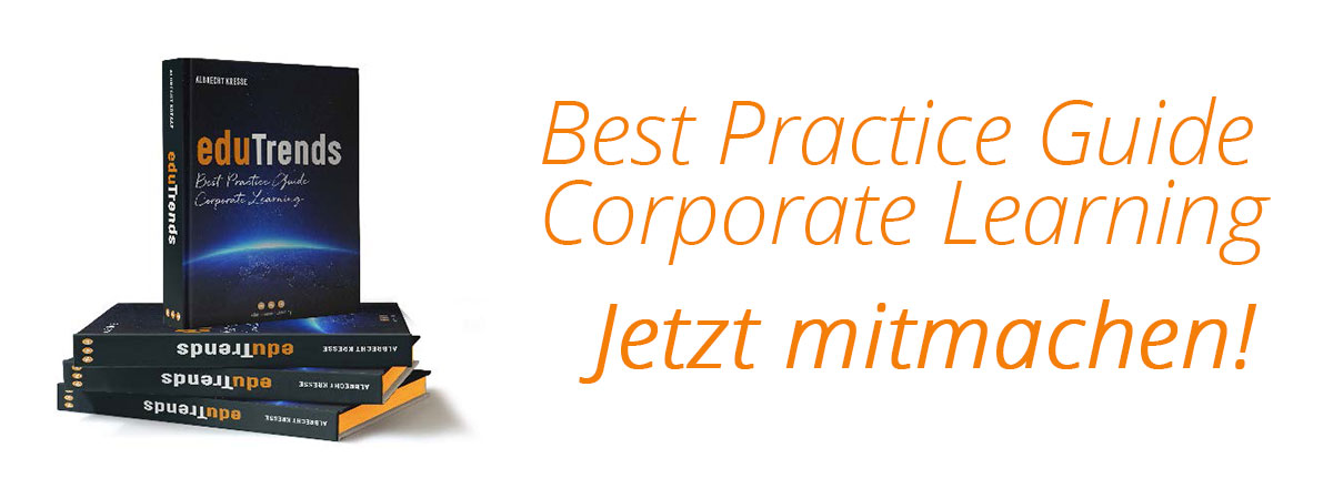 Werden Sie Buchautor. Im Best Practice Guide Corporate Learning.
