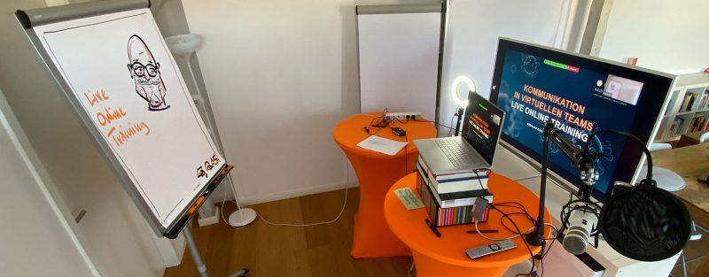 Setup eines Live Online Trainings