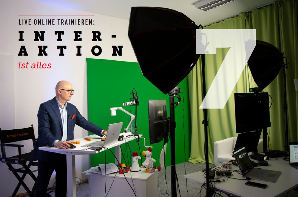 Live Online Trainings im Studio