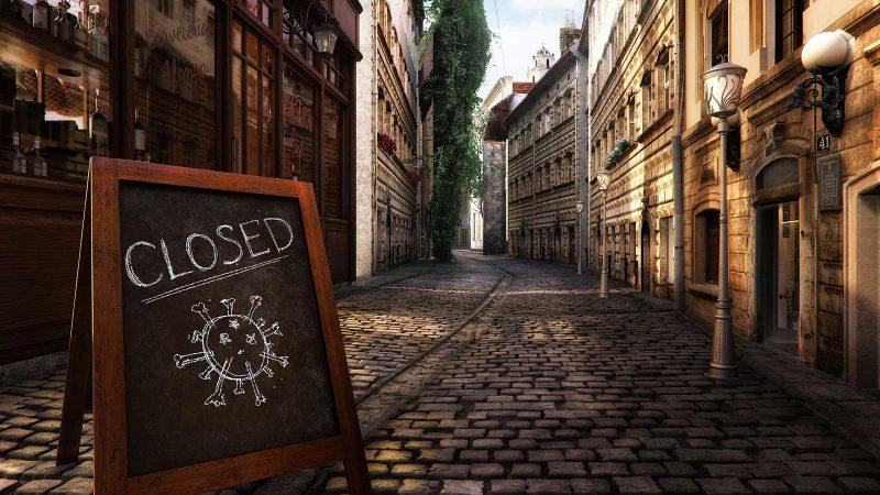 Lockdown in den Städten